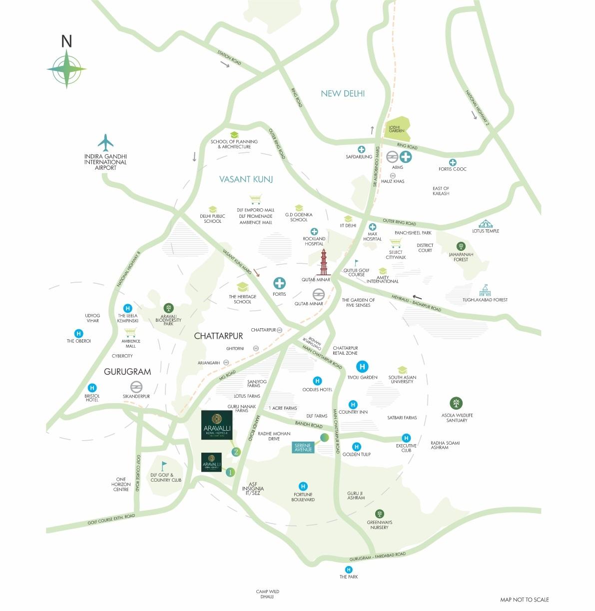 Aravalli-Koral- homes-2-Map