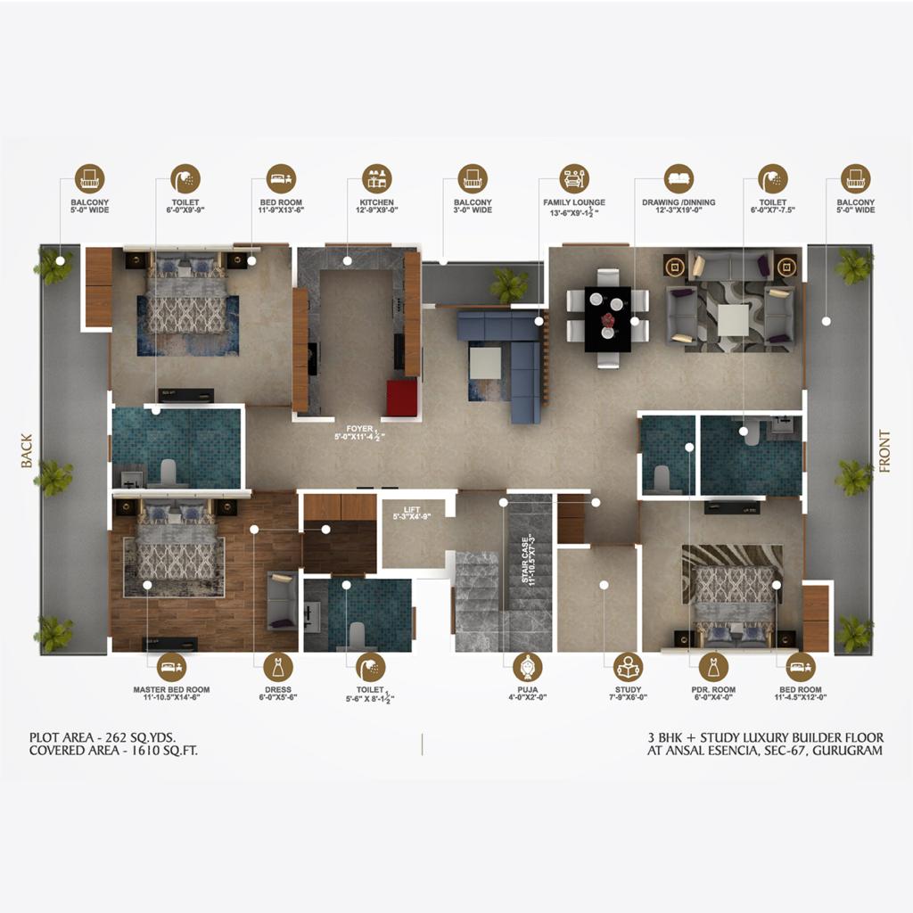 C-1059- floor plan