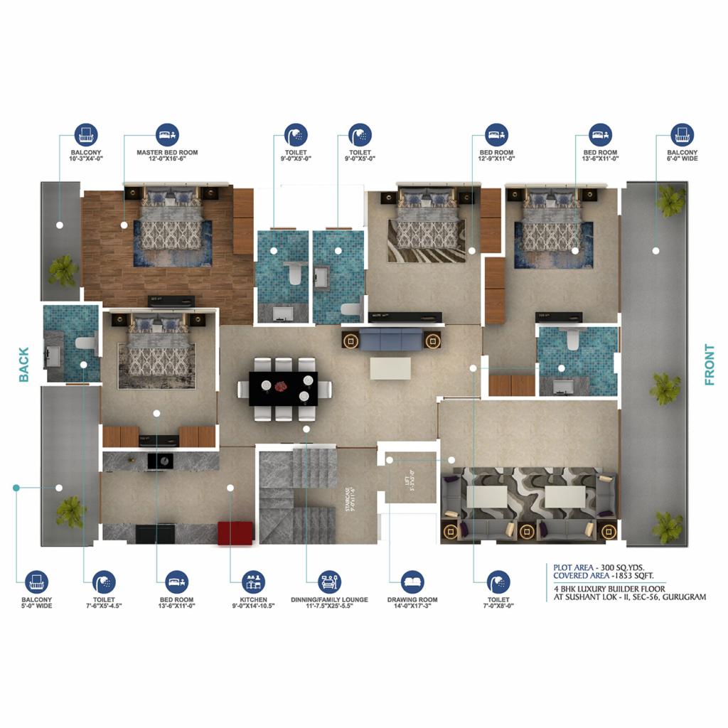 D-137 floor plan