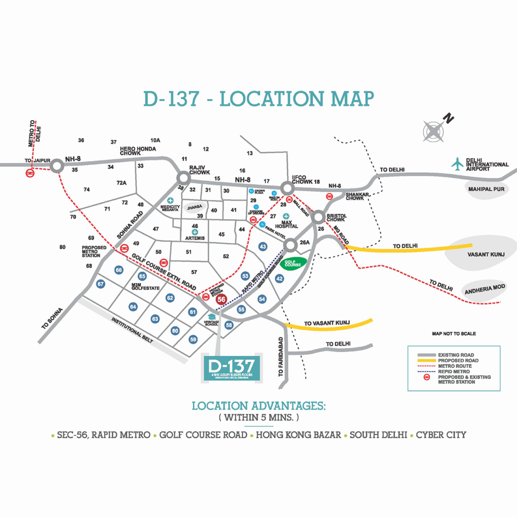 D-137 Location Map
